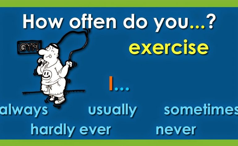 Unit 6: How often are you in a hurry? How often do you do exercise?