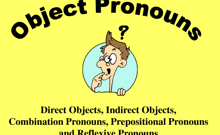 Lesson 36: Object Pronouns