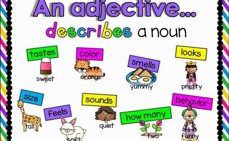 Lesson Fourteen – Adjectives