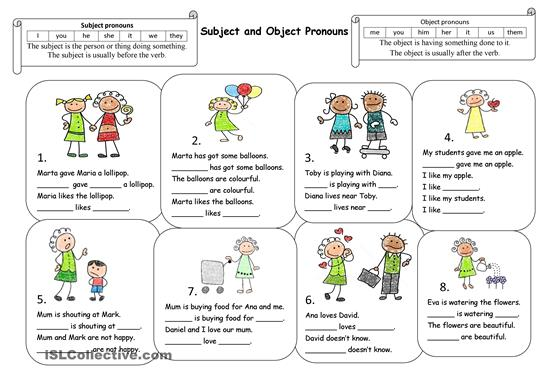 Lesson Six  Object Pronouns