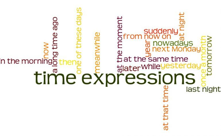 Lesson Sixteen –  Expressions of Time