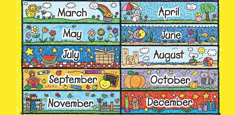Unit 4: Các tháng trong năm l l Months