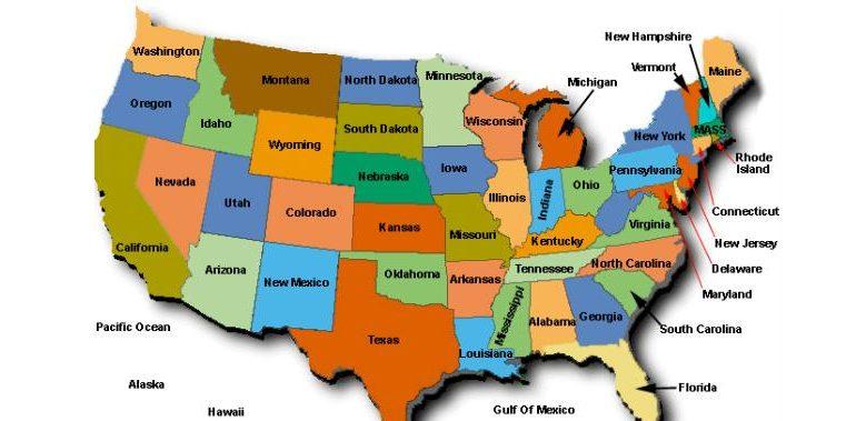Unit 18: Từ vựng các bang của Mỹ l l American States