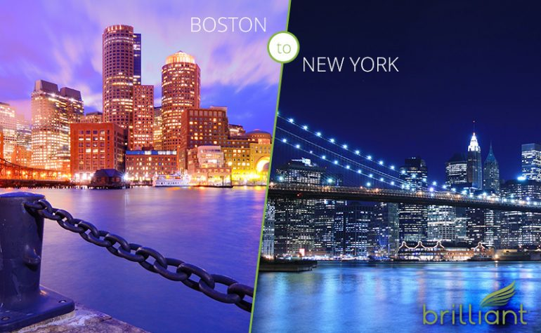 Unit 23: Which city is warmer, New York or Boston?