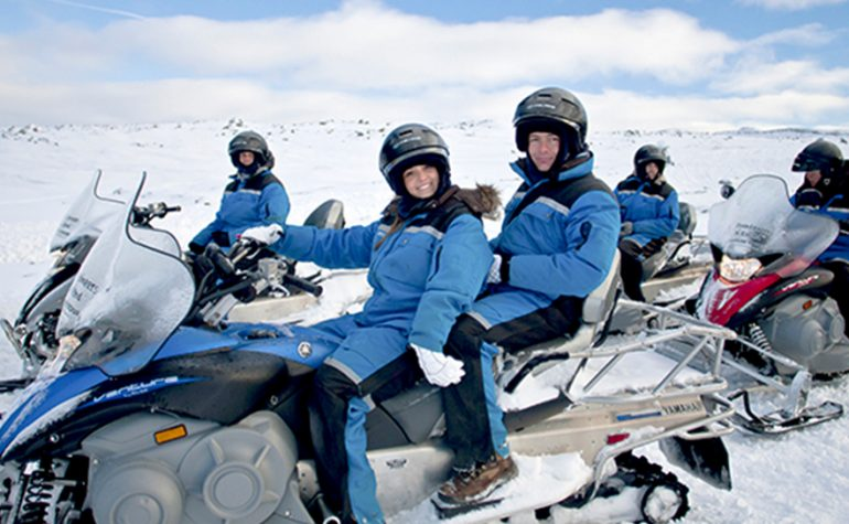 Unit 29: Did your friends have a good time snowmobiling