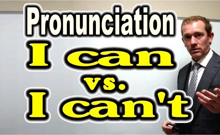 Unit 2: Can vs can't và học âm /ae/